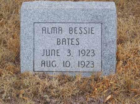 BATES, ALMA BESSIE - Brown County, Nebraska | ALMA BESSIE BATES - Nebraska Gravestone Photos