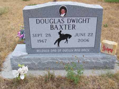 BAXTER, DOUGLAS DWIGHT - Brown County, Nebraska | DOUGLAS DWIGHT BAXTER - Nebraska Gravestone Photos