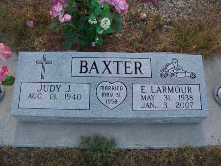 BAXTER, E. LARMOUR - Brown County, Nebraska | E. LARMOUR BAXTER - Nebraska Gravestone Photos