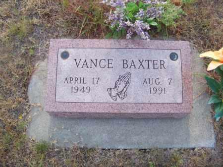 BAXTER, VANCE - Brown County, Nebraska | VANCE BAXTER - Nebraska Gravestone Photos