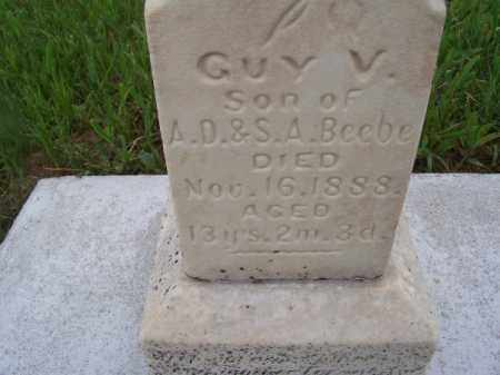 BEEBE, GUY V. - Brown County, Nebraska | GUY V. BEEBE - Nebraska Gravestone Photos