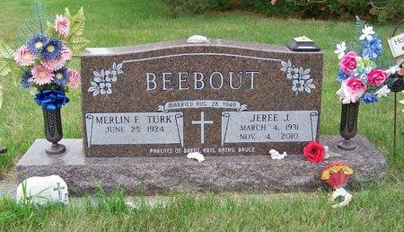 BEEBOUT, JEREE J. - Brown County, Nebraska | JEREE J. BEEBOUT - Nebraska Gravestone Photos