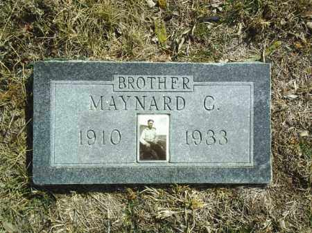 BEED, MAYNARD - Brown County, Nebraska | MAYNARD BEED - Nebraska Gravestone Photos