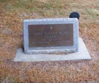BEJOT, LEWIS EUGENE - Brown County, Nebraska   LEWIS EUGENE BEJOT - Nebraska Gravestone Photos