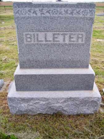 BILLETER, FAMILY - Brown County, Nebraska | FAMILY BILLETER - Nebraska Gravestone Photos
