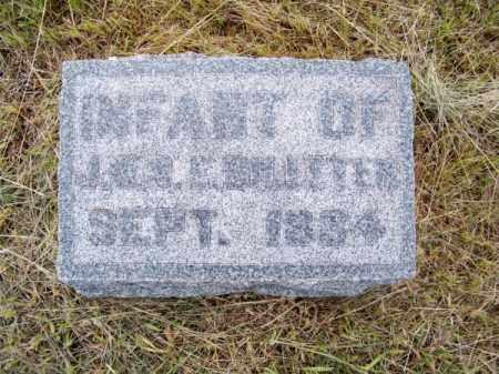 BILLETER, INFANT - Brown County, Nebraska   INFANT BILLETER - Nebraska Gravestone Photos
