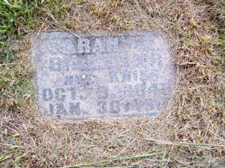 BILLETER, SARAH - Brown County, Nebraska   SARAH BILLETER - Nebraska Gravestone Photos