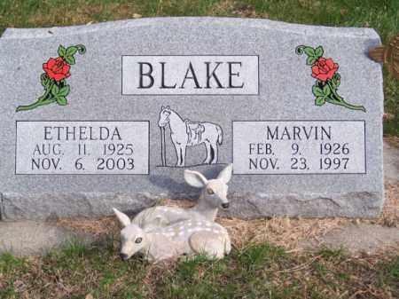 BLAKE, ETHELDA - Brown County, Nebraska | ETHELDA BLAKE - Nebraska Gravestone Photos