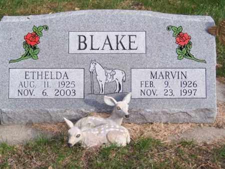 BLAKE, MARVIN - Brown County, Nebraska | MARVIN BLAKE - Nebraska Gravestone Photos