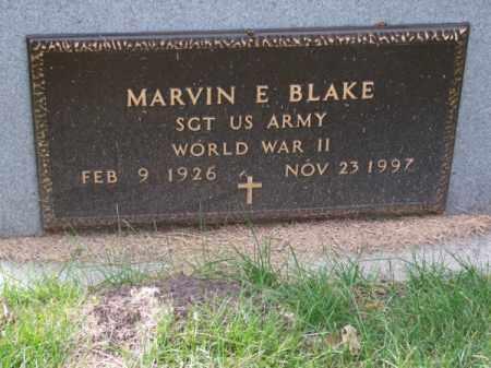 BLAKE, MARVIN E. - Brown County, Nebraska | MARVIN E. BLAKE - Nebraska Gravestone Photos
