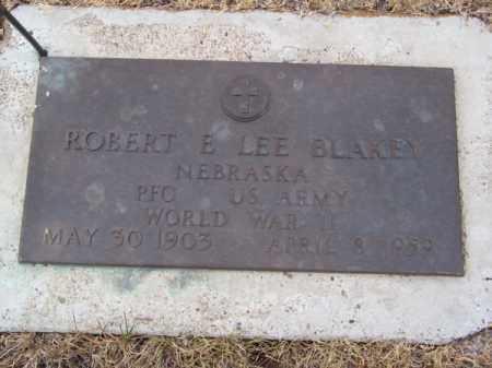 BLAKEY, ROBERT E. LEE - Brown County, Nebraska | ROBERT E. LEE BLAKEY - Nebraska Gravestone Photos