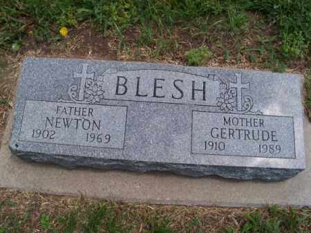 BLESH, NEWTON - Brown County, Nebraska | NEWTON BLESH - Nebraska Gravestone Photos