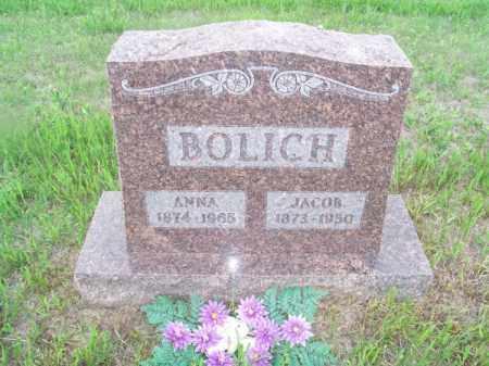 BOLICH, ANNA - Brown County, Nebraska | ANNA BOLICH - Nebraska Gravestone Photos