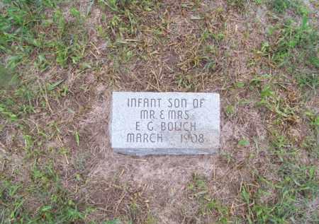 BOLICH, INFANT SON - Brown County, Nebraska | INFANT SON BOLICH - Nebraska Gravestone Photos