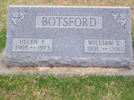 BOTSFORD`, HELEN F. - Brown County, Nebraska | HELEN F. BOTSFORD` - Nebraska Gravestone Photos