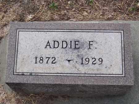 BOYD, ADDIE F. - Brown County, Nebraska   ADDIE F. BOYD - Nebraska Gravestone Photos