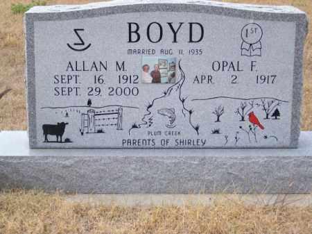 BOYD, ALLAN M. - Brown County, Nebraska | ALLAN M. BOYD - Nebraska Gravestone Photos