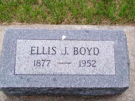 BOYD, ELLIS J. - Brown County, Nebraska | ELLIS J. BOYD - Nebraska Gravestone Photos