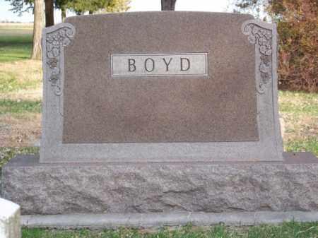 BOYD, FAMILY - Brown County, Nebraska | FAMILY BOYD - Nebraska Gravestone Photos