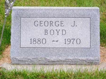 BOYD, GEORGE J. - Brown County, Nebraska | GEORGE J. BOYD - Nebraska Gravestone Photos