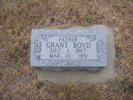 BOYD, GRANT - Brown County, Nebraska | GRANT BOYD - Nebraska Gravestone Photos