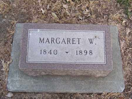 BOYD, MARGARET W. - Brown County, Nebraska | MARGARET W. BOYD - Nebraska Gravestone Photos