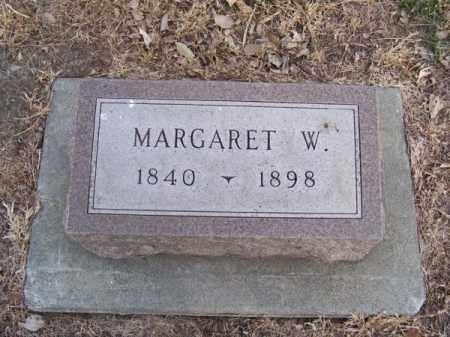 BOYD, MARGARET W. - Brown County, Nebraska   MARGARET W. BOYD - Nebraska Gravestone Photos