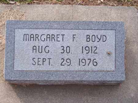 BOYD, MARGARET F. - Brown County, Nebraska | MARGARET F. BOYD - Nebraska Gravestone Photos