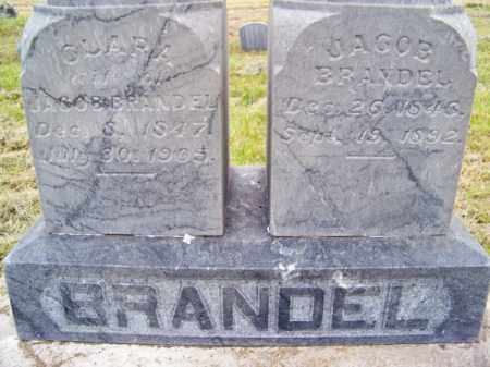 BRANDEL, JACOB - Brown County, Nebraska | JACOB BRANDEL - Nebraska Gravestone Photos