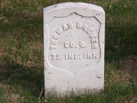 BREWER, THOMAS - Brown County, Nebraska   THOMAS BREWER - Nebraska Gravestone Photos