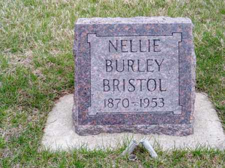 BURLEY BRISTOL, NELLIE - Brown County, Nebraska | NELLIE BURLEY BRISTOL - Nebraska Gravestone Photos