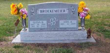 BROEKEMEIER, GLENN D. - Brown County, Nebraska | GLENN D. BROEKEMEIER - Nebraska Gravestone Photos