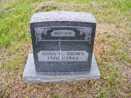 BROWN, ANNA C. - Brown County, Nebraska | ANNA C. BROWN - Nebraska Gravestone Photos