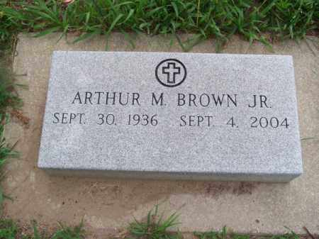 BROWN, ARTHUR M., JR. - Brown County, Nebraska | ARTHUR M., JR. BROWN - Nebraska Gravestone Photos