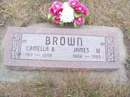 BROWN, CAMELLA B. - Brown County, Nebraska | CAMELLA B. BROWN - Nebraska Gravestone Photos