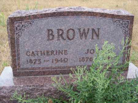 BROWN, JOHN G. - Brown County, Nebraska | JOHN G. BROWN - Nebraska Gravestone Photos