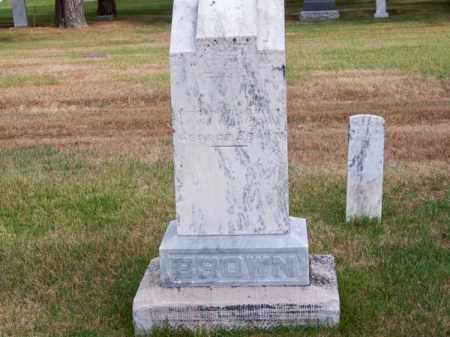 BROWN, GEORGE FAMILY - Brown County, Nebraska | GEORGE FAMILY BROWN - Nebraska Gravestone Photos