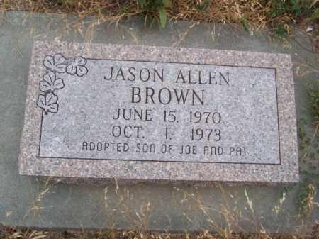 BROWN, JASON ALLEN - Brown County, Nebraska | JASON ALLEN BROWN - Nebraska Gravestone Photos