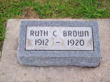 BROWN, RUTH C. - Brown County, Nebraska | RUTH C. BROWN - Nebraska Gravestone Photos