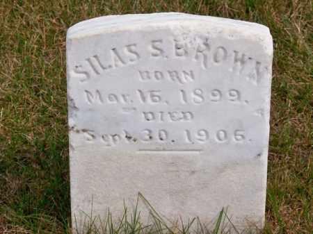 BROWN, SILAS S. - Brown County, Nebraska | SILAS S. BROWN - Nebraska Gravestone Photos