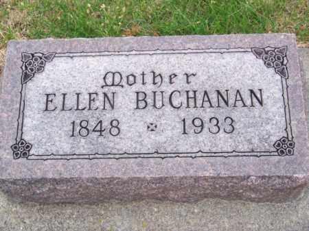 BUCHANAN, ELLEN - Brown County, Nebraska | ELLEN BUCHANAN - Nebraska Gravestone Photos