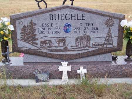 BUECHLE, G. TED - Brown County, Nebraska | G. TED BUECHLE - Nebraska Gravestone Photos