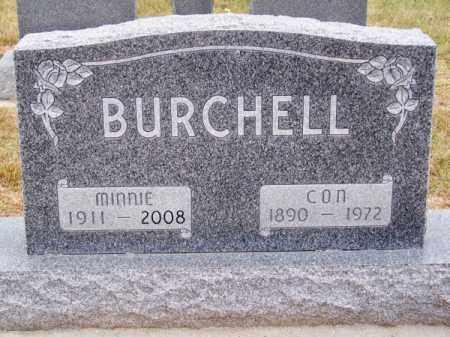 PELSTER BURCHELL, MINNIE - Brown County, Nebraska | MINNIE PELSTER BURCHELL - Nebraska Gravestone Photos