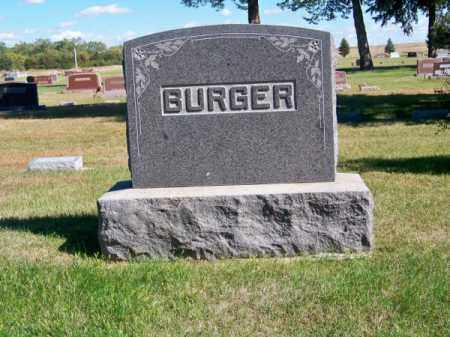 BURGER, FAMILY - Brown County, Nebraska | FAMILY BURGER - Nebraska Gravestone Photos