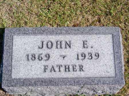 BURGER, JOHN E. - Brown County, Nebraska | JOHN E. BURGER - Nebraska Gravestone Photos