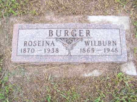 BURGER, WILBURN - Brown County, Nebraska | WILBURN BURGER - Nebraska Gravestone Photos