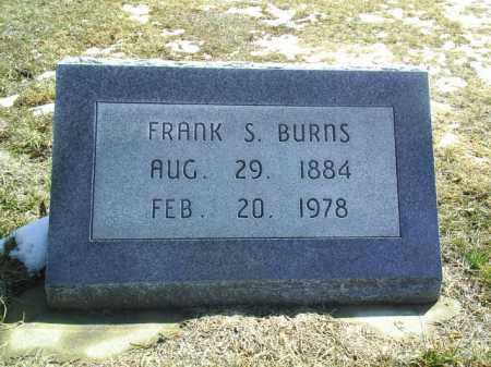 BURNS, FRANK - Brown County, Nebraska | FRANK BURNS - Nebraska Gravestone Photos