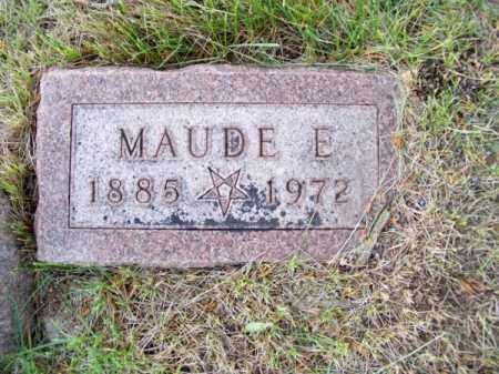 CARPENDER, MAUDE E. - Brown County, Nebraska | MAUDE E. CARPENDER - Nebraska Gravestone Photos