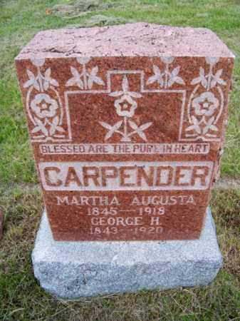 CARPENDER, GEORGE H. - Brown County, Nebraska | GEORGE H. CARPENDER - Nebraska Gravestone Photos