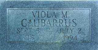 CAUBARRUS, VIOLA - Brown County, Nebraska | VIOLA CAUBARRUS - Nebraska Gravestone Photos